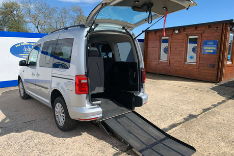 Volkswagen Caddy Life 2016 C20 LIFE TDI upfront wheelchair & scooter accessible vehicle WAV