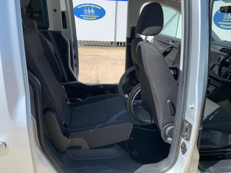 Volkswagen Caddy Life 2016 C20 LIFE TDI upfront wheelchair & scooter accessible vehicle WAV 20