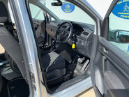 Volkswagen Caddy Life 2016 C20 LIFE TDI upfront wheelchair & scooter accessible vehicle WAV 14