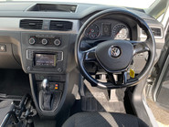 Volkswagen Caddy Life 2016 C20 LIFE TDI upfront wheelchair & scooter accessible vehicle WAV 15