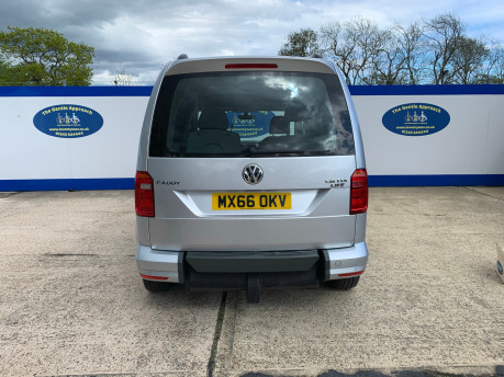 Volkswagen Caddy Life 2016 C20 LIFE TDI upfront wheelchair & scooter accessible vehicle WAV 5