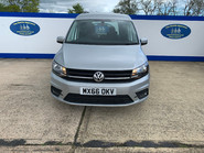 Volkswagen Caddy Life 2016 C20 LIFE TDI upfront wheelchair & scooter accessible vehicle WAV 3