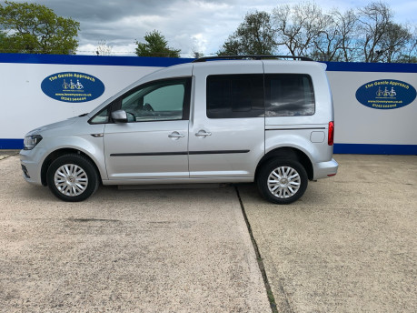 Volkswagen Caddy Life 2016 C20 LIFE TDI upfront wheelchair & scooter accessible vehicle WAV 22
