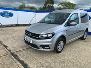 Volkswagen Caddy Life 2016 C20 LIFE TDI upfront wheelchair & scooter accessible vehicle WAV 4