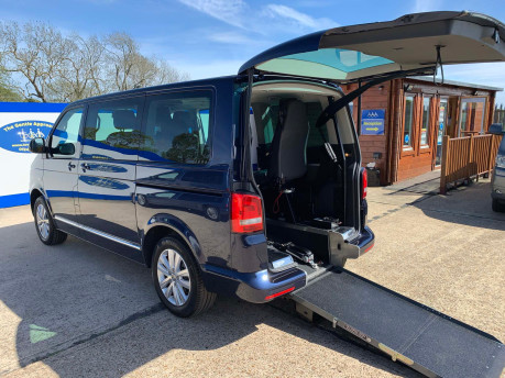 Volkswagen Caravelle 2014 EXEC TDI BLUEMOTION TECH wheelchair & scooter accessible vehicle WAV 1