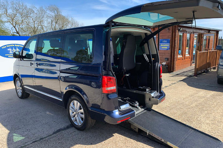 Volkswagen Caravelle 2014 EXEC TDI BLUEMOTION TECH wheelchair & scooter accessible vehicle WAV