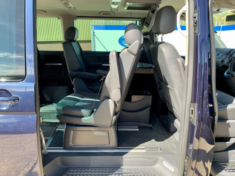 Volkswagen Caravelle 2014 EXEC TDI BLUEMOTION TECH wheelchair & scooter accessible vehicle WAV 17