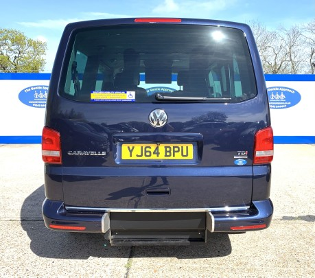 Volkswagen Caravelle 2014 EXEC TDI BLUEMOTION TECH wheelchair & scooter accessible vehicle WAV 5