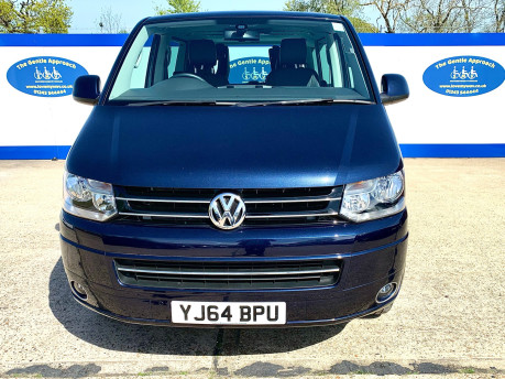 Volkswagen Caravelle 2014 EXEC TDI BLUEMOTION TECH wheelchair & scooter accessible vehicle WAV 3