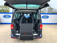 Volkswagen Caravelle 2014 EXEC TDI BLUEMOTION TECH wheelchair & scooter accessible vehicle WAV 9