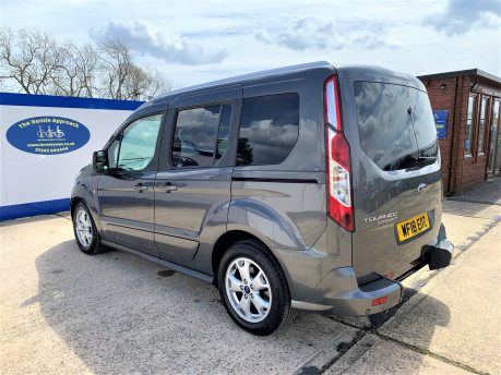 Ford Tourneo Connect 2018 TITANIUM TDCI Wheelchair & scooter accessible vehicle WAV 21