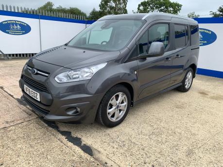 Ford Tourneo Connect 2018 TITANIUM TDCI Wheelchair & scooter accessible vehicle WAV 4