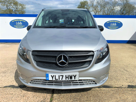Mercedes-Benz Vito 2017 114 BLUETEC TOURER SELECT wheelchair & scooter accessibe vehicle WAV 3