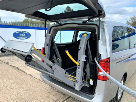 Mercedes-Benz Vito 2017 114 BLUETEC TOURER SELECT wheelchair & scooter accessibe vehicle WAV 8