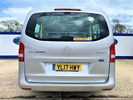 Mercedes-Benz Vito 2017 114 BLUETEC TOURER SELECT wheelchair & scooter accessibe vehicle WAV 5