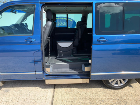 Volkswagen Caravelle 2015 EXEC TDI BLUEMOTION TECH wheelchair & scooter accessible vehicle WAV 11