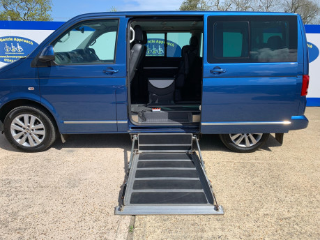 Volkswagen Caravelle 2015 EXEC TDI BLUEMOTION TECH wheelchair & scooter accessible vehicle WAV 12