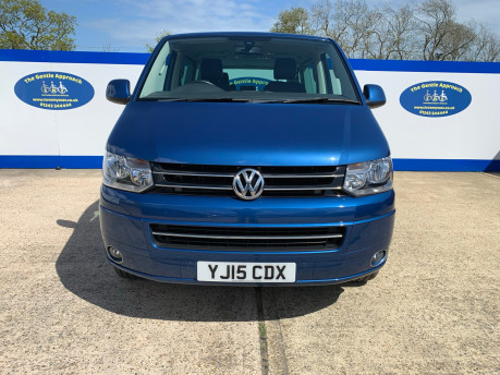 Volkswagen Caravelle 2015 EXEC TDI BLUEMOTION TECH wheelchair & scooter accessible vehicle WAV 3