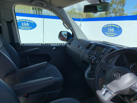 Volkswagen Caravelle 2015 EXEC TDI BLUEMOTION TECH wheelchair & scooter accessible vehicle WAV 16
