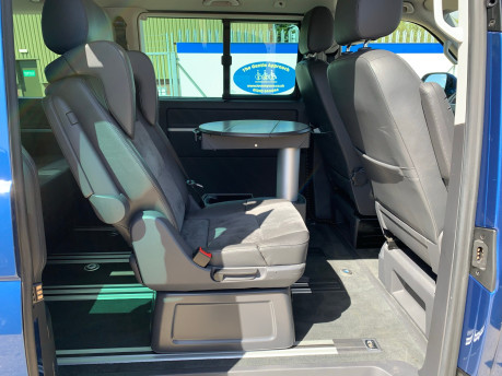 Volkswagen Caravelle 2015 EXEC TDI BLUEMOTION TECH wheelchair & scooter accessible vehicle WAV 21