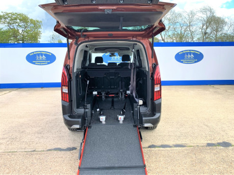 Peugeot Rifter 2020 PURETECH S/S ALLURE L wheelchair & scooter accessible vehicle WAV 8