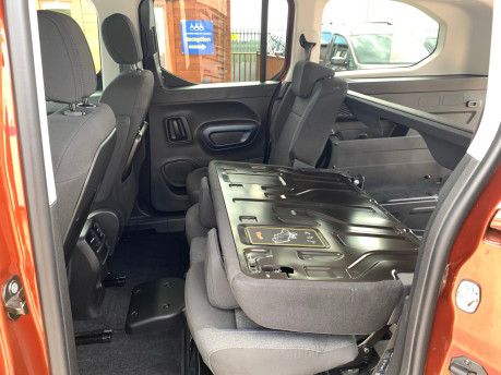 Peugeot Rifter 2020 PURETECH S/S ALLURE L wheelchair & scooter accessible vehicle WAV 19