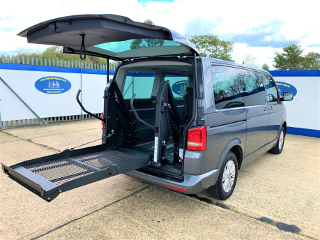 Volkswagen Caravelle 2013 SE TDI BLUEMOTION TECH Wheelchair & scooter accessible vehicle WAV 27