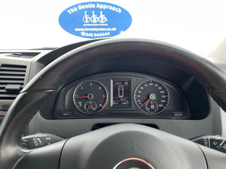 Volkswagen Caravelle 2013 SE TDI BLUEMOTION TECH Wheelchair & scooter accessible vehicle WAV 13