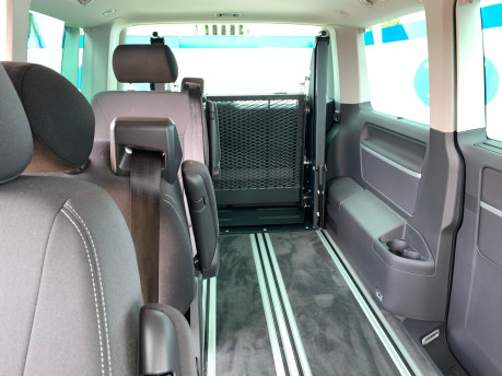 Volkswagen Caravelle 2013 SE TDI BLUEMOTION TECH Wheelchair & scooter accessible vehicle WAV 8