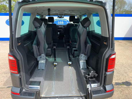 Volkswagen Caravelle 2017 EXECUTIVE TDI BMT Wheelchair & scooter accessible vehicle WAV 8
