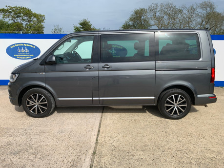 Volkswagen Caravelle 2017 EXECUTIVE TDI BMT Wheelchair & scooter accessible vehicle WAV 21