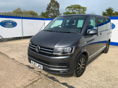 Volkswagen Caravelle 2017 EXECUTIVE TDI BMT Wheelchair & scooter accessible vehicle WAV 4