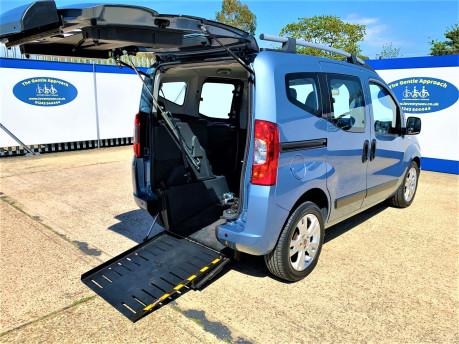 Fiat Qubo 2010 MULTIJET DYNAMIC DUALOGIC Wheelchair Accessible Vehicle WAV 21