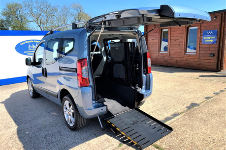 Fiat Qubo 2010 MULTIJET DYNAMIC DUALOGIC Wheelchair Accessible Vehicle WAV
