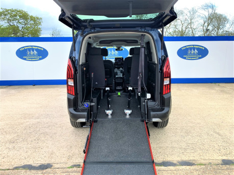 Peugeot Rifter 2021 BLUEHDI S/S ALLURE Wheelchair & scooter accessible vehicle WAV 8