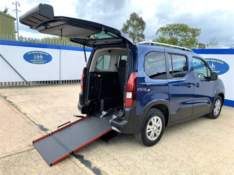 Peugeot Rifter 2021 BLUEHDI S/S ALLURE Wheelchair & scooter accessible vehicle WAV 22