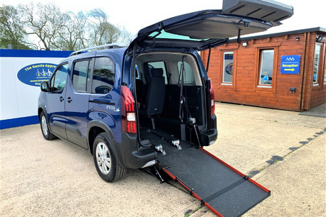 Peugeot Rifter 2021 BLUEHDI S/S ALLURE Wheelchair & scooter accessible vehicle WAV