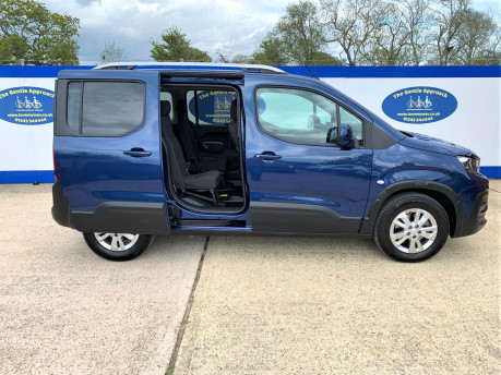 Peugeot Rifter 2021 BLUEHDI S/S ALLURE Wheelchair & scooter accessible vehicle WAV 19