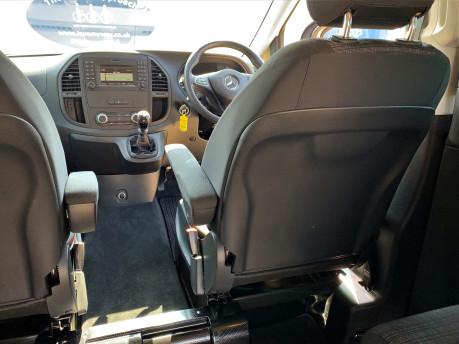Mercedes-Benz Vito 2017 111 BLUETEC TOURER PRO Wheelchair & scooter accessible vehicle WAV 20