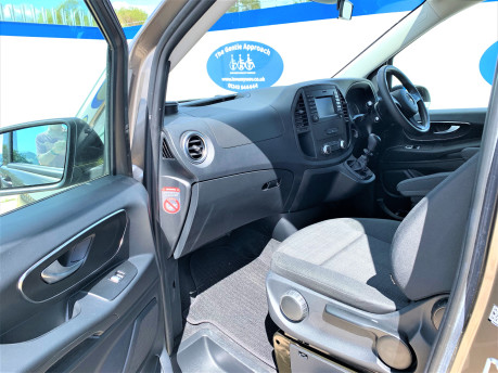 Mercedes-Benz Vito 2017 111 BLUETEC TOURER PRO Wheelchair & scooter accessible vehicle WAV 19