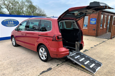 SEAT Alhambra TDI XCELLENCE DSG Wheelchair & scooter accessible Vehicle WAV