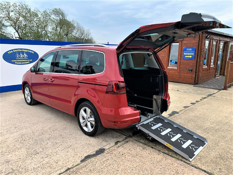 SEAT Alhambra 2020 TDI XCELLENCE DSG Wheelchair & scooter accessible Vehicle WAV