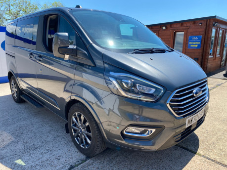 Ford Tourneo Custom 320 TITANIUM X ECOBLUE L1 wheelchair & scooter accessible vehicle WAV 2