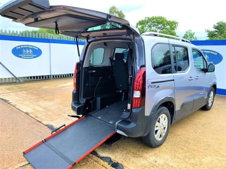 Peugeot Rifter 2019 HORIZON RE wheelchair & scooter accesssible vehicle WAV 28