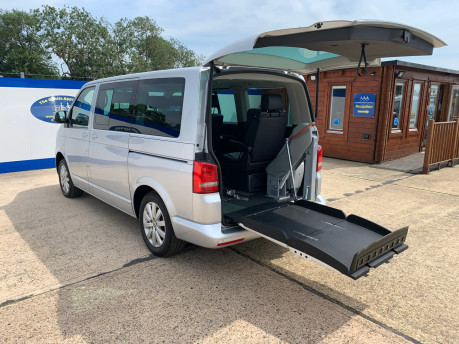 Volkswagen Caravelle 2014 EXECUTIVE TDI BLUEMOTION TECH wheelchair & scooter accessible vehicle 1