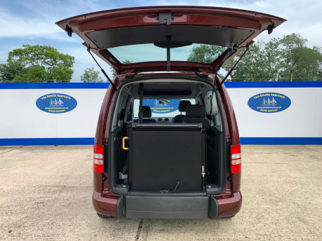 Volkswagen Caddy Life 2015 C20 LIFE TDI wheelchair & scooter accessible vehicle WAV 6