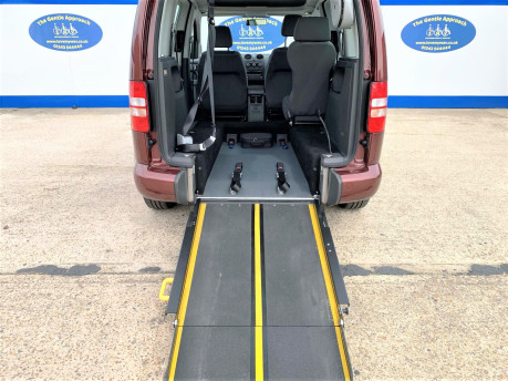 Volkswagen Caddy Life 2015 C20 LIFE TDI wheelchair & scooter accessible vehicle WAV 7