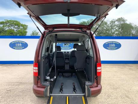 Volkswagen Caddy Life 2015 C20 LIFE TDI wheelchair & scooter accessible vehicle WAV 8