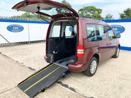 Volkswagen Caddy Life 2015 C20 LIFE TDI wheelchair & scooter accessible vehicle WAV 20