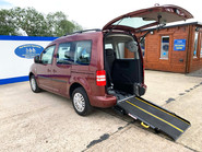 Volkswagen Caddy Life 2015 C20 LIFE TDI wheelchair & scooter accessible vehicle WAV 1